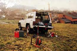 Rilievi Geofisici - Foto storica